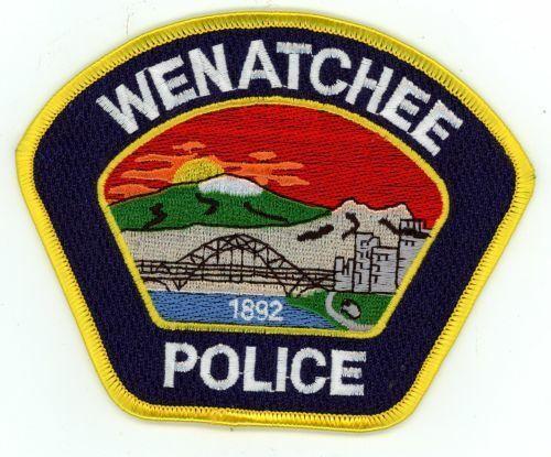 WENATCHEE POLICE WASHINGTON WA AWESOME COLORFUL PATCH SHERIFF