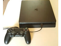 PS4 Slim 1TB with Sony Controller in Mint Condition like new