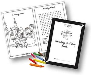 Kids Wedding Activity Packs