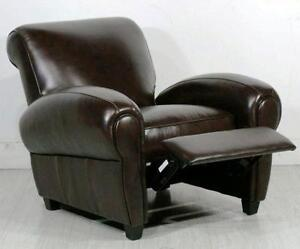 Leather Club Chair Recliner : recliner chairs used - islam-shia.org