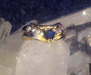 Sapphire Diamond Ring In Time For Christmas Prince George British Columbia image 1