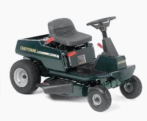 FREE PICKUP OF UNWANTED LAWN TRACTORS