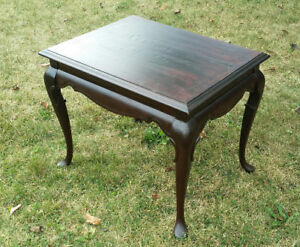 Canadian Made, Solid Wood Side Table