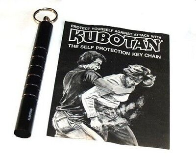 Kubotan Self Defense Protection Key Chain Ring Kubaton ULTRA STRONG w/ instructs