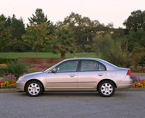 2001 Honda Civic Sedan e-mail only