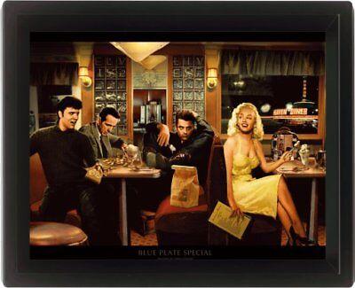 Blue Plate Special Chris Consani Elvis Presley Marilyn Monroe 3D Motion Poster
