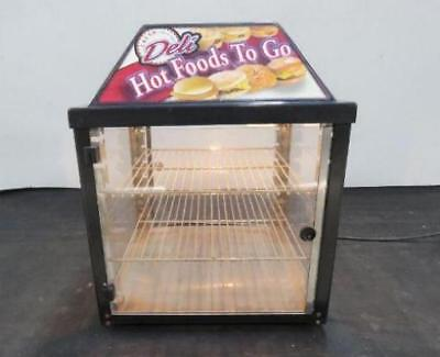 Wisco 690-16 Food Warmer Cabinet Food Oven Display Sandwich 2 Door 690