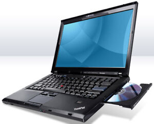 "Lenovo ThinkPad 15.4"" Dual Core Laptop with Webcam"