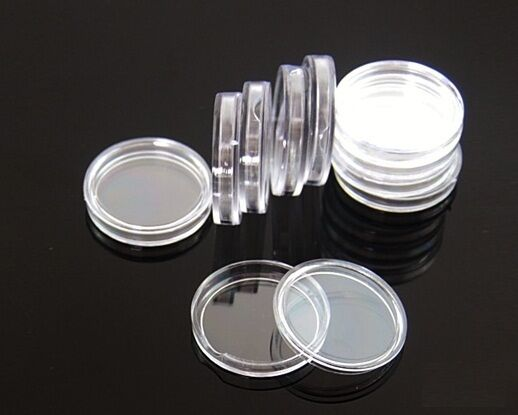 50 coin holders 38mm direct fit coin capsules for MORGAN,PEACE,IKE SILVER DOLLAR