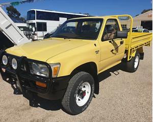 Yellow Toyota Hilux 4X4 Heathcote Bendigo Surrounds Preview