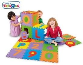 Foam tiles alphabet/letters and numbers, 36 pieces