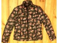 Brand New CATH KIDSTON Padded Floral coat - size medium (10-12)