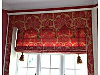 High quality Roman blinds and window dressings