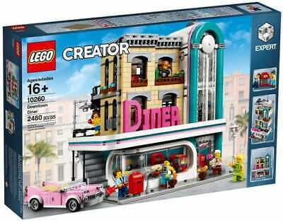 LEGO Creator Expert 10260 Downtown Diner 100% Complete with Instructions & Box