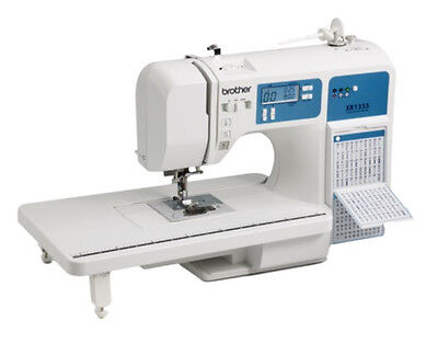 Brother XR1355 130 Stitch Sewing&Quilting Instrument+Table Compare to HC1850