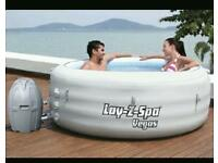 Lazy spa hot tub
