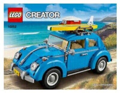LEGO 10252 Creator Expert Volkswagen Beetle Car VW - Brand New In Box