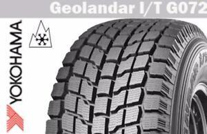 Brand new set of 4 winter tires P235/70R16 Yokohama G072