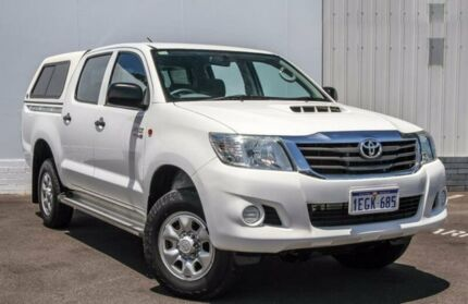 2013 Toyota Hilux KUN26R MY14 SR Double Cab 5 Speed Automatic Utility