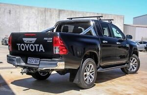 2015 Toyota Hilux GUN126R SR5 Double Cab Black 6 Speed Sports Automatic Utility Willetton Canning Area Preview