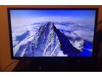 "Samsung TV 32"" with the glass stand 130"