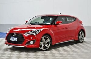 2014 Hyundai Veloster FS3 SR Turbo Burgundy 6 Speed Automatic Coupe East Rockingham Rockingham Area Preview