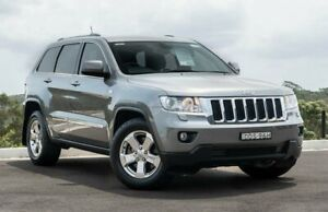 2012 Jeep Grand Cherokee WK MY2013 Laredo Grey 5 Speed Sports Automatic Wagon Somersby Gosford Area Preview