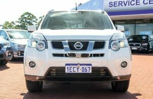 2012 Nissan X-Trail T31 Series IV TS White 6 Speed Sports Automatic Wagon