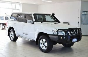 2012 Nissan Patrol GU VII ST (4x4) White 4 Speed Automatic Wagon Morley Bayswater Area Preview