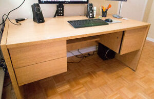Solid Wood Desk - Great Deal
