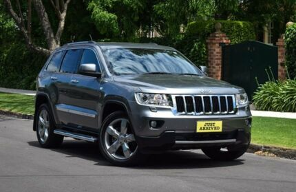 2012 Jeep Grand Cherokee WK MY2013 Limited Grey 5 Speed Sports Automatic Wagon Medindie Walkerville Area Preview