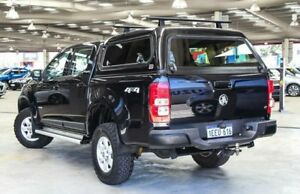 2012 Holden Colorado RG LT (4x2) Black 6 Speed Automatic Crew Cab Pickup