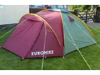 Eurohike Adventure 220 3 man tent