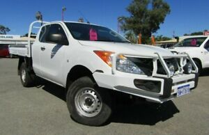 2012 Mazda BT-50 UP0YF1 XT Freestyle White 6 Speed Manual Cab Chassis Bellevue Swan Area Preview