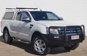 2012 Ford Ranger PX XLT Super Cab White 6 Speed Sports Automatic Utility Bundaberg Central Bundaberg City Preview