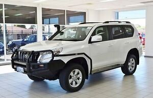 2014 Toyota Landcruiser Prado KDJ150R MY14 GXL (4x4) White 5 Speed Sequential Auto Wagon Morley Bayswater Area Preview