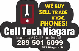 15 Min iPhone 5s/6/6+/6s/7/7+ LCD Repair At CellTechNiagara 69$