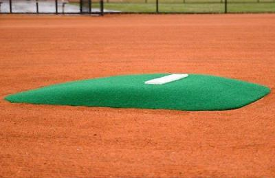 (Diamond Pro Fiberglass Baseball Portable Pitcher's Pitching Mound #1 GREEN TURF)