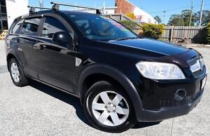 2007 Holden Captiva CG MY08 CX (4x4) 7 SEATER TURBO DIESEL AUTOMATIC Black 5 Speed Automatic Wagon Underwood Logan Area Preview