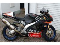2002 model RSV Mille R, 1st reg 2006 Gen 1. Loads of Extras, well set up bike, just valeted