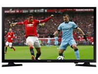 """Samsung 32"""" inch LED HD TV Ultra Slim 1080p with Freeview + USB Media Player + HDMI & Boxed Like New"""