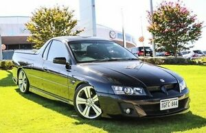 2006 Holden Special Vehicles Maloo Z Series MY06 SS Black 6 Speed Manual Utility Wangara Wanneroo Area Preview