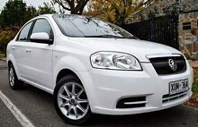 2008 Holden Barina TK MY09 White 4 Speed Automatic Sedan Medindie Walkerville Area Preview