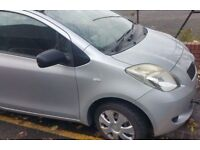 Toyota Yaris 1.0 T2 O/S Wing In Silver Breaking For Parts (2006)