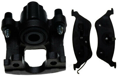 Disc Brake Caliper-Non-Coated Loaded with Semi-Metallic Pads Front Right Reman
