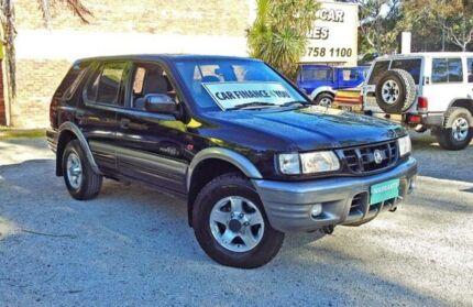 2000 Holden Frontera MX S Black 5 Speed Manual Wagon