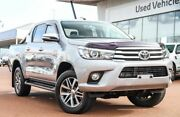 2016 Toyota Hilux GUN126R SR5 Double Cab Silver Sky 6 Speed Manual Utility Wangara Wanneroo Area Preview