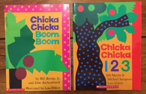 Brand New CHICKA CHICKA BOOM BOOM set $10