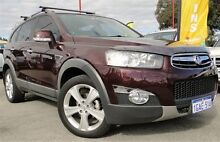 2011 Holden Captiva CG Series II 7 AWD LX Maroon 6 Speed Sports Automatic Wagon Bellevue Swan Area Preview