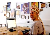 Office and desk space above amazing cafe in Seven Sisters needs you for small business success!